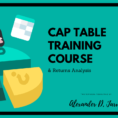 Cap Table Spreadsheet Template In Cap Table #2: Cap Table Dilution Formula Stepstep Example