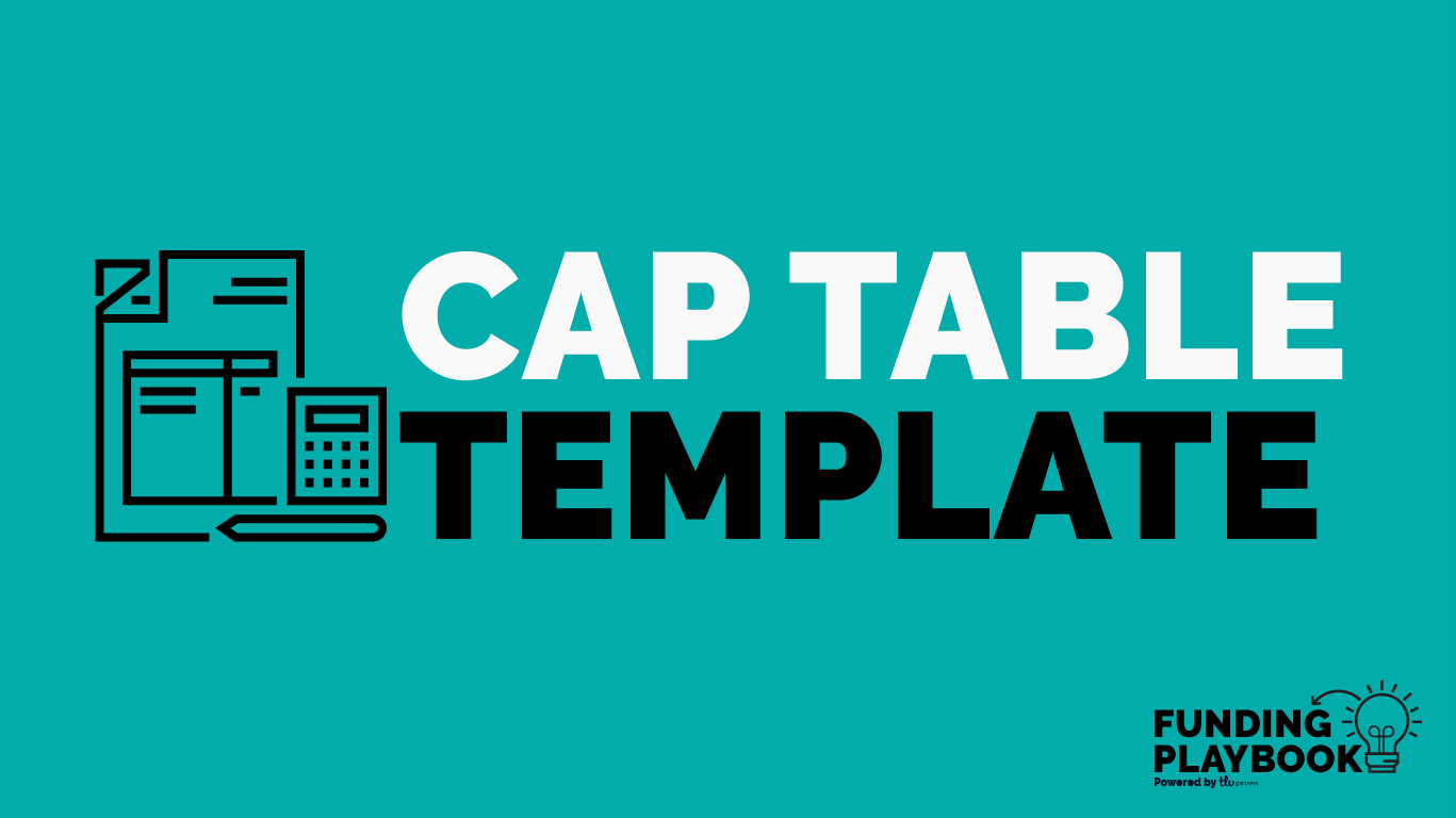 Cap Table Spreadsheet Template Throughout Cap Table 101: A Simple Tool To Help You With Cap Tables And Exit