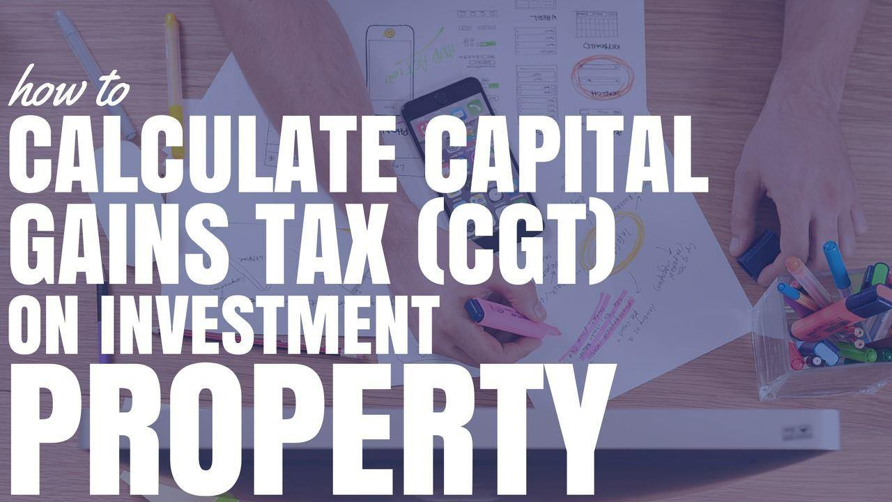 Capital Gains Tax Spreadsheet Australia For How To Calculate Capital Gains Tax Cgt On Investment Property