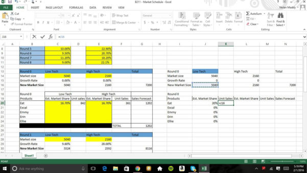 Capsim Sales Forecast Spreadsheet Regarding Capsim Sales Forecast Spreadsheet Great How To Create An Excel