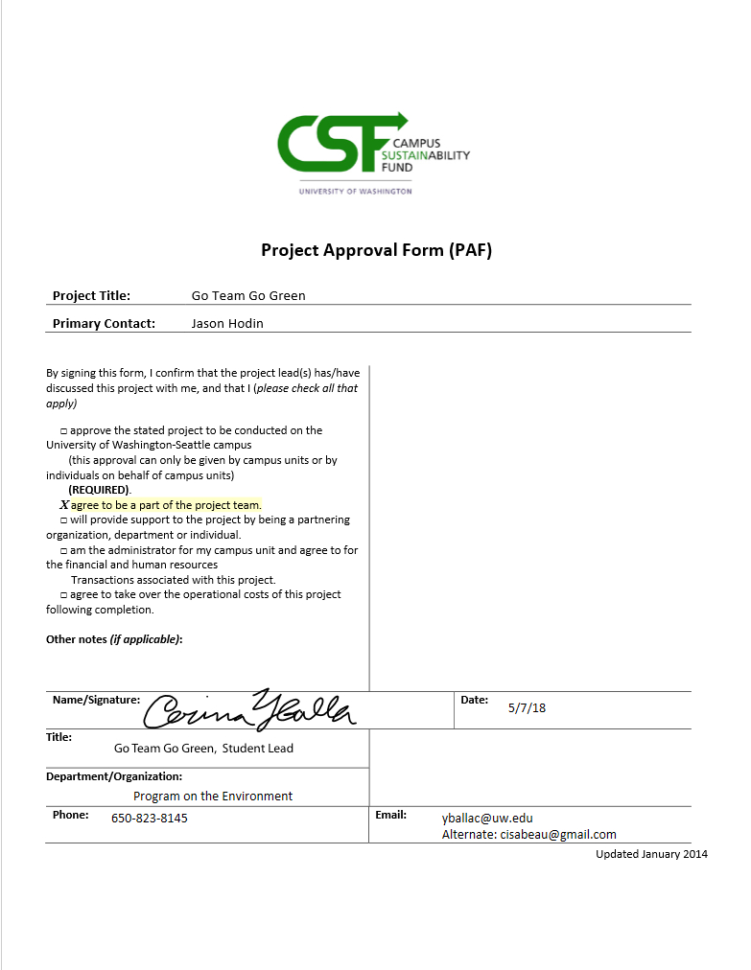 Capstone Forecasting Spreadsheet & Walkthrough Tips With Regard To Full Proposal  Campus Sustainability Fund Csf