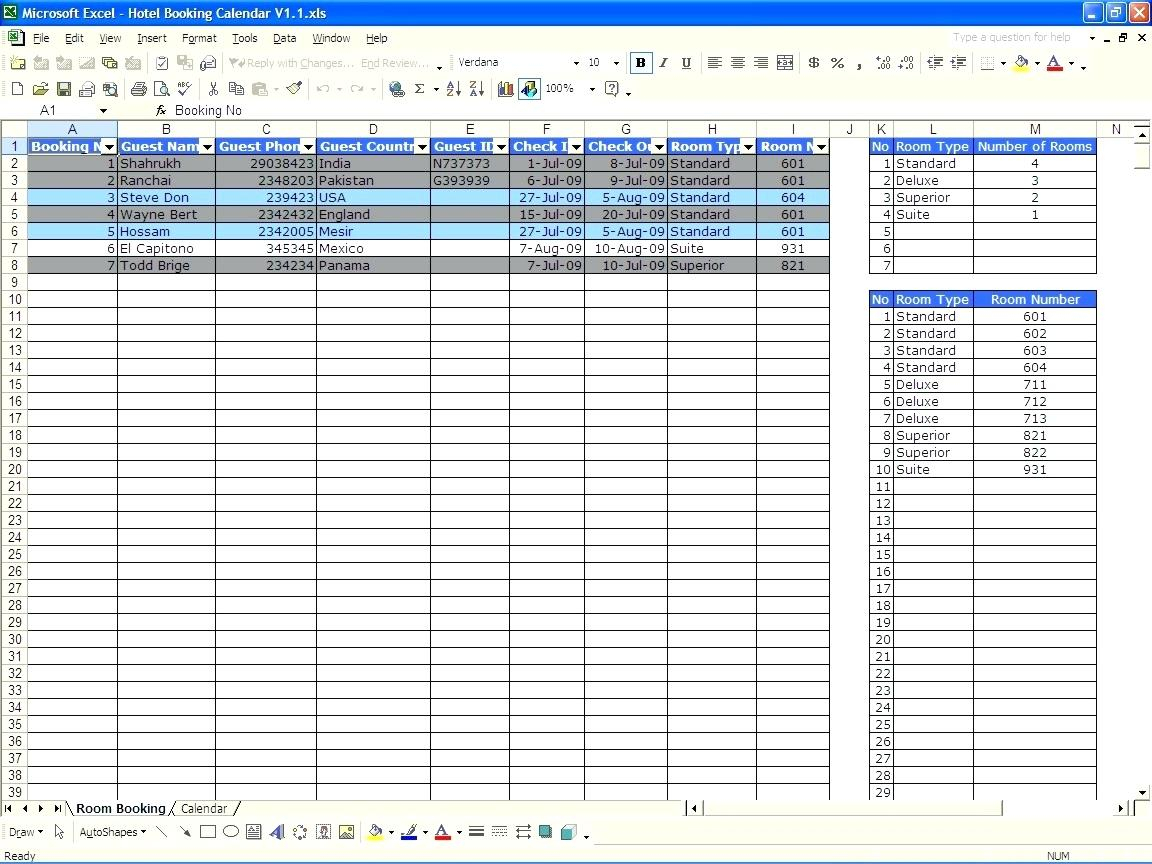 Car Rental Reservation Spreadsheet Throughout Access Project Management Template Project Management Template Image