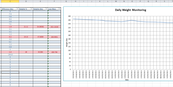 Carb Cycling Excel Spreadsheet Within Carb Cycling Excelt Jeremy Zawodnys Blog June Archives Calorie And
