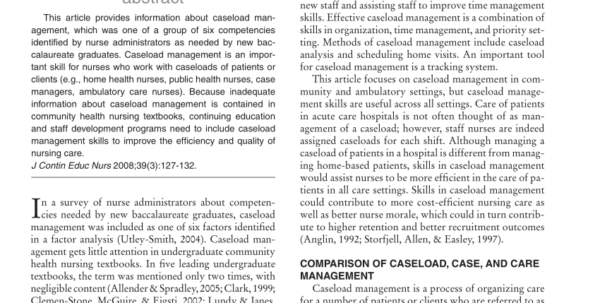 Caseload Spreadsheet Regarding Pdf Caseload Management Skills For Improved Efficiency