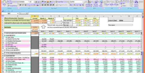 Cash Flow Budget Spreadsheet With Regard To Cash Flow Budget Worksheet Excel 2 – Elsik Blue Cetane