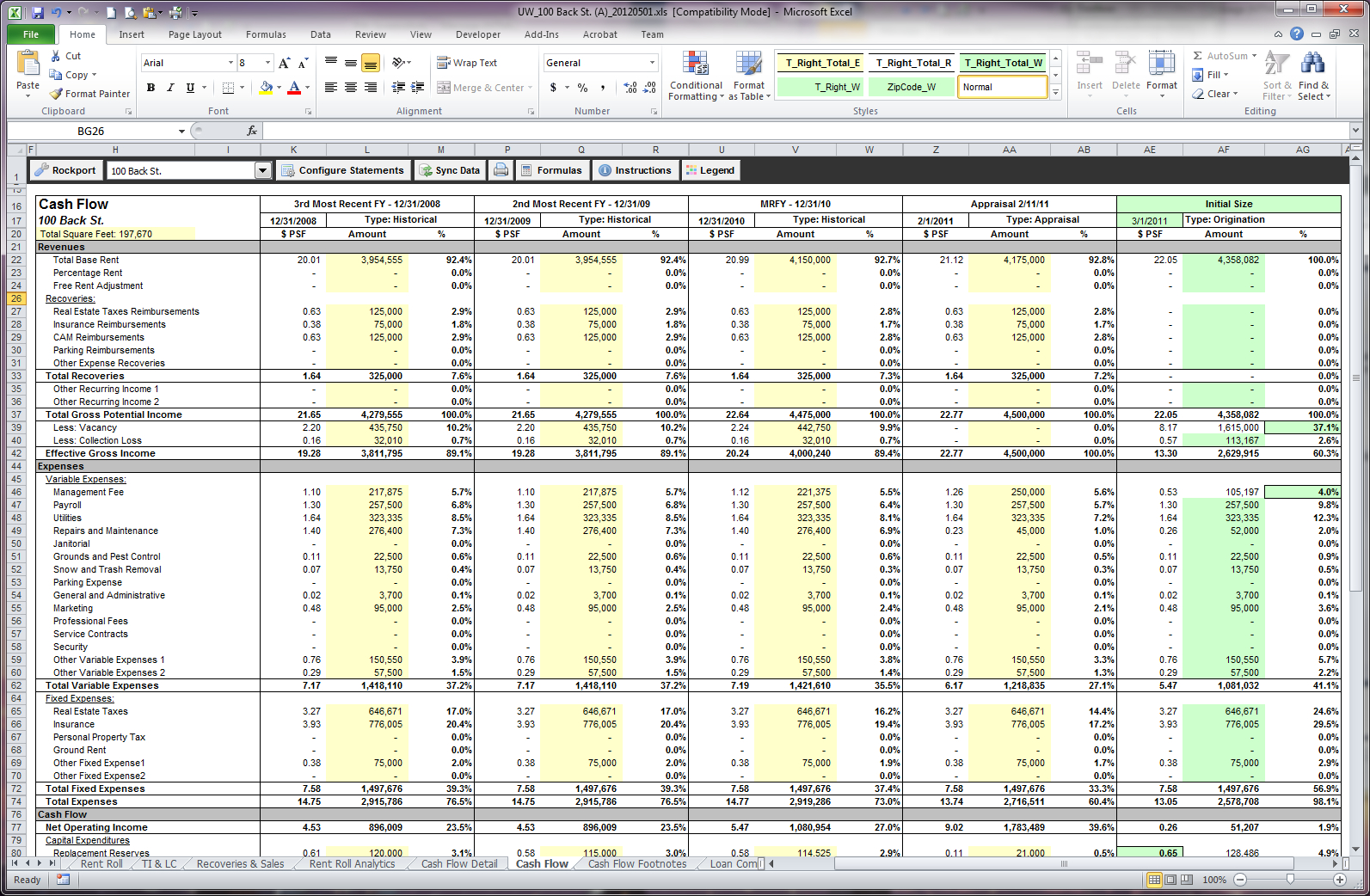 Cash Flow Excel Spreadsheet Pertaining To A Beginners Cash Flow Forecast Microsofts Excel Template The Four