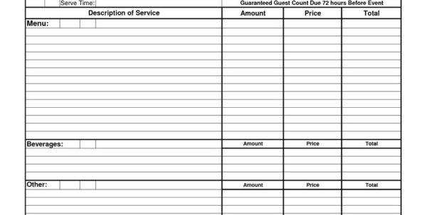 Catering Expenses Spreadsheet With Catering Expenses Spreadsheet Proposal Tracking Template Excel