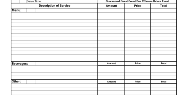 Catering Spreadsheet Pertaining To Retirement Planner Spreadsheet And Free Able Catering Contracts