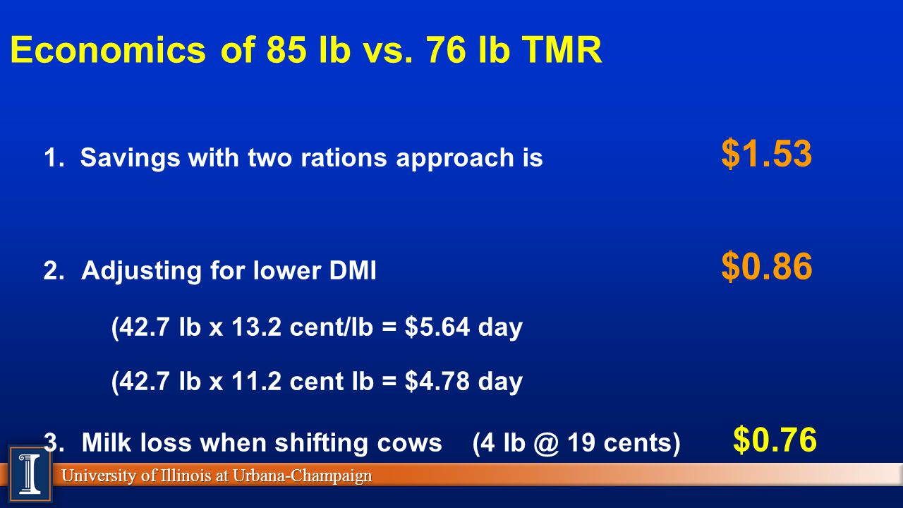 Cattle Ration Spreadsheet for Take Home Message #2 Shredlage  Forage Form  Ppt Video Online Download
