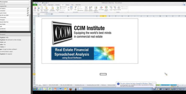 Ccim Excel Spreadsheets With Real Estate Financial Analysis Using Excel Session 3 On Vimeo Ccim Excel Spreadsheets Google Spreadsheet