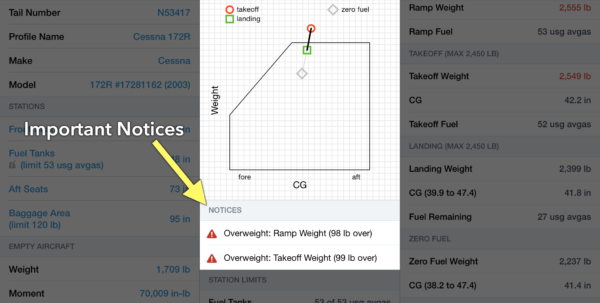 Cessna 206 Weight And Balance Spreadsheet Throughout How To Calculate Weight And Balance In Foreflight  Ipad Pilot News Cessna 206 Weight And Balance Spreadsheet Printable Spreadsheet
