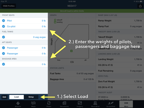 Cessna 206 Weight And Balance Spreadsheet With How To Calculate Weight And Balance In Foreflight  Ipad Pilot News