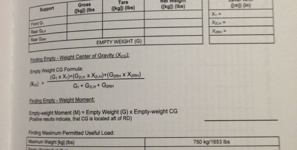 Cessna 206 Weight And Balance Spreadsheet Within Calculating Aircraft Weight And Balance: 5 Steps