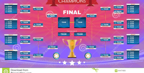 Champions League Spreadsheet Pertaining To Football Champions Final Spreadsheet Illustration 64471829  Megapixl Champions League Spreadsheet Payment Spreadsheet
