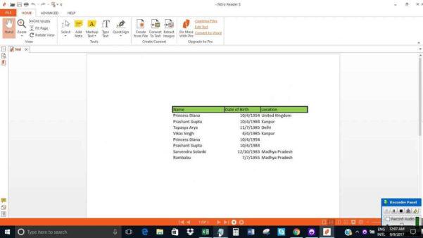 Change Pdf To Excel Spreadsheet Regarding Convert Pdf Into Excel Sheet And Convert A Pdf File To Excel