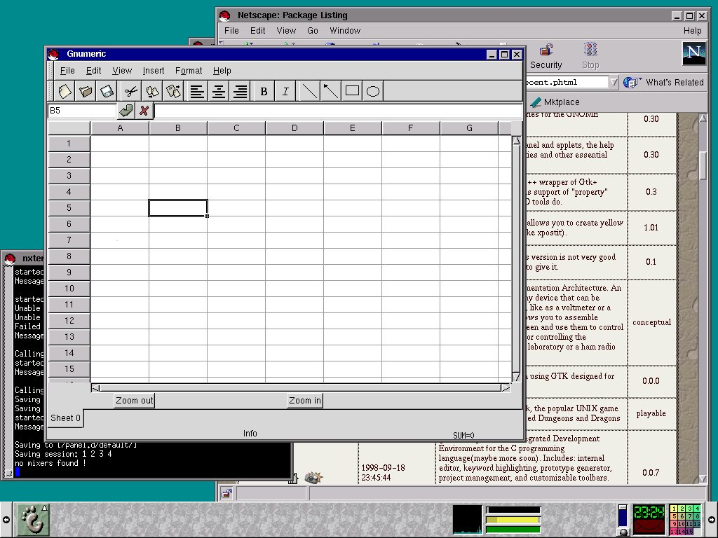 Cheap Spreadsheet Software Inside The Gnumeric Spreadsheet  Gnu Project  Free Software Foundation Fsf