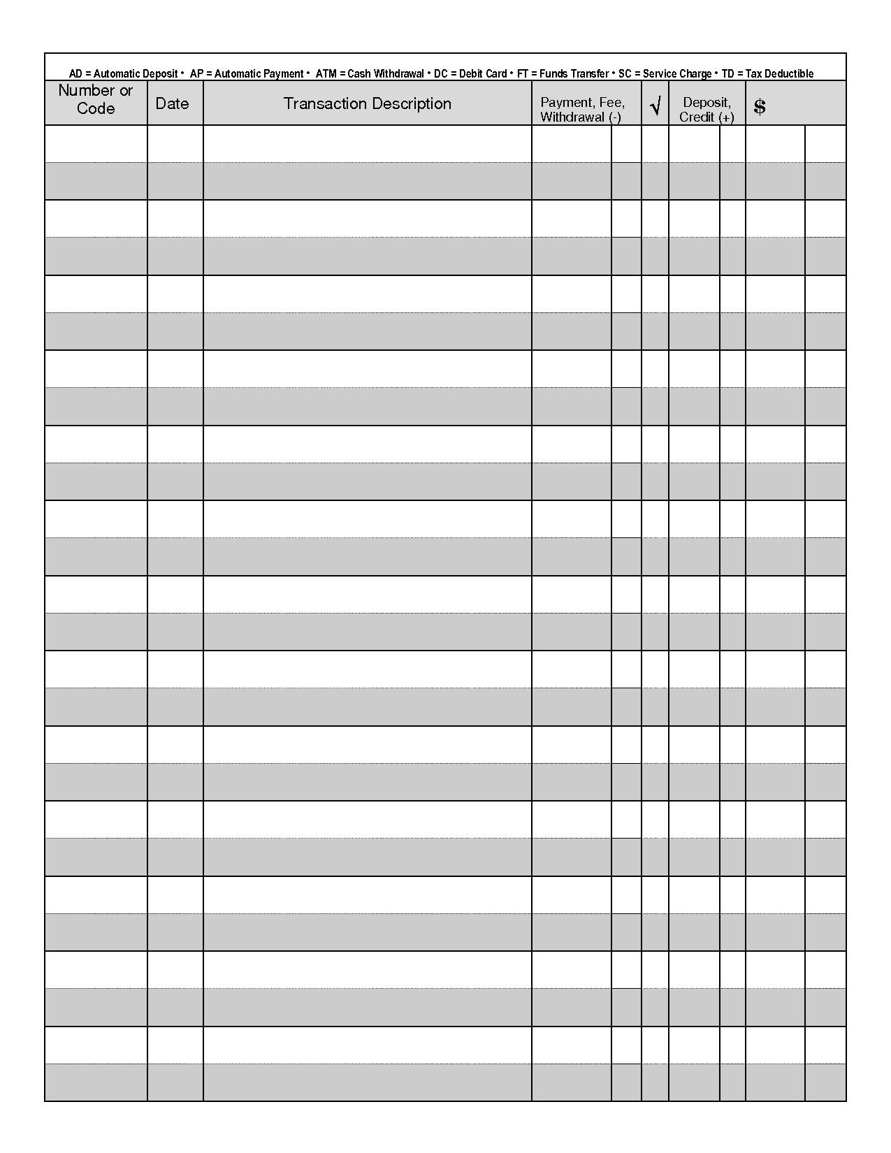 Checkbook Register Spreadsheet Excel Intended For Checkbook Register Spreadsheet  Aljererlotgd