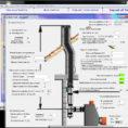 Chimney Height Calculation Spreadsheet Regarding Diameter Pipe Smoke Flue Calculation Software