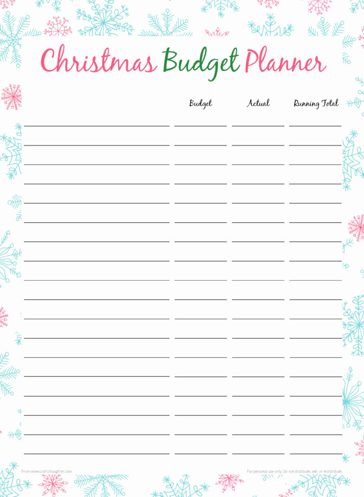 Christmas Budget Spreadsheet For Christmas Budget Spreadsheet Gift Worksheet Monthly Templates Simple