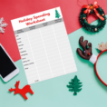 Christmas Budget Spreadsheet In Free Holiday Budget Worksheet  Life And A Budget