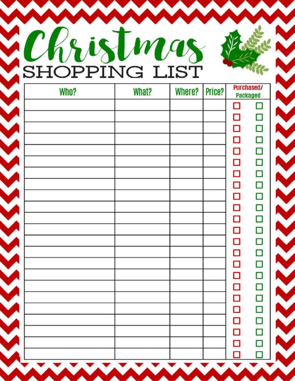 Christmas List Spreadsheet Intended For Christmas List Template Excel Fresh Free Printable Christmas
