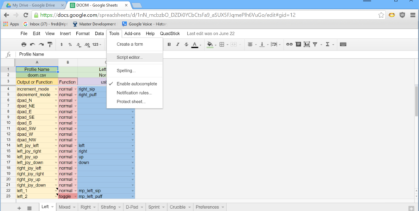 Chrome Spreadsheet Pertaining To There's A New Qmp In Town  Google Groups