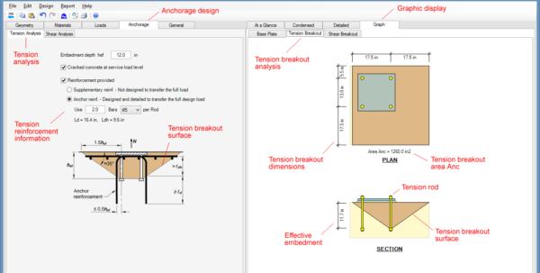 Circular Base Plate Design Spreadsheet For Steel Beam, Column, Plate, Anchor, Connection Software  Asdip Steel