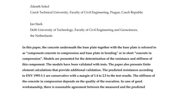 Circular Base Plate Design Spreadsheet Throughout Pdf Design Of Circular Hollow Section Base Plates
