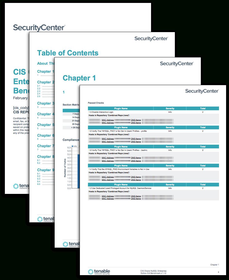 Cis Benchmark Excel Spreadsheet Regarding Cis Mysql Benchmarks  Sc Report Template  Tenable®