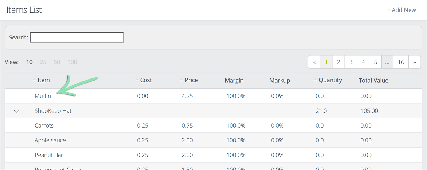 Clover Inventory Spreadsheet Pertaining To Inventory Tracking  Reorder Report  Shopkeep Support