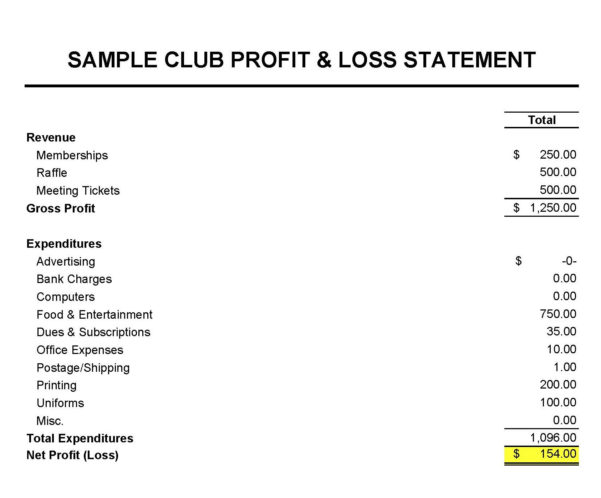 Club Treasurer Spreadsheet Template For Masna » Club Accounting 101