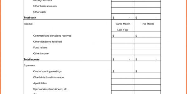 Club Treasurer Spreadsheet Template Within Treasurer Report Template  Lorgprintmakers