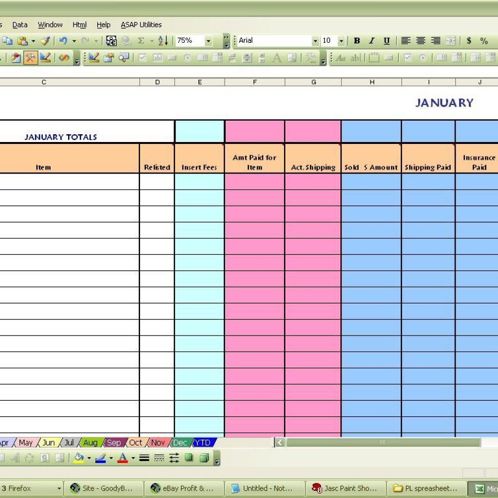 Coffee Shop Profit And Loss Excel Spreadsheet Within Coffee Shop Profit And Loss Excel Spreadsheet  La Portalen Document