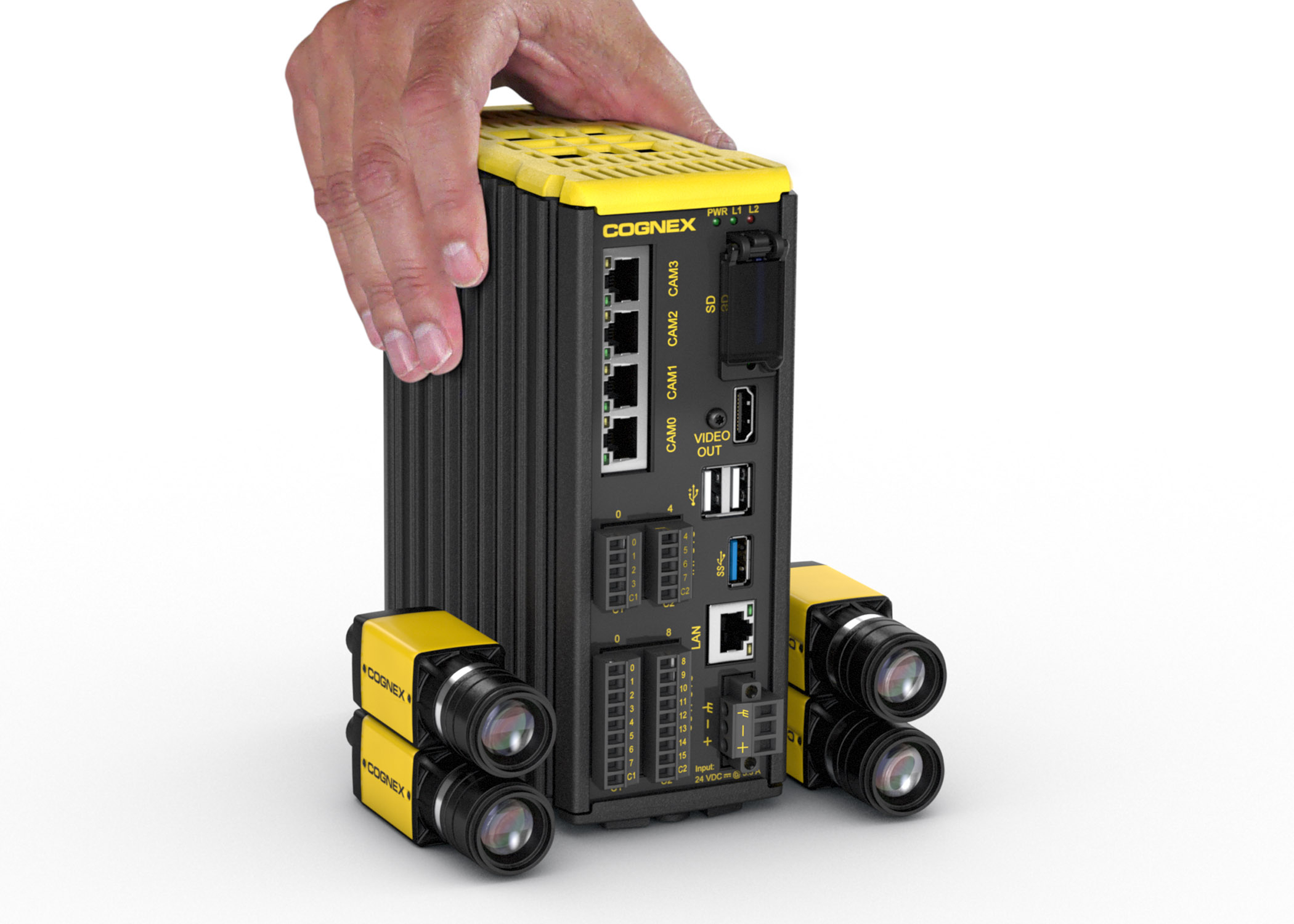 Cognex Spreadsheet In World's First Multi Smart Camera Vision System  Cognex