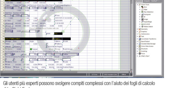 Cognex Spreadsheet Programming For Standardization As A Recipe For Success  Packmedia  Notizie