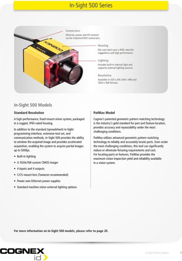 Cognex Spreadsheet Programming With Regard To New Image To Come. Insight. Vision Systems. Product Guide  Pdf