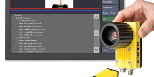 Cognex Spreadsheet Programming Within New Automatic Test, Optimization And Verification System For In