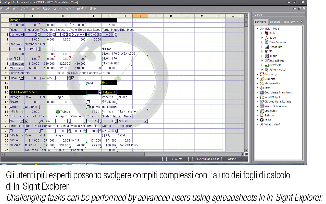 Cognex Spreadsheet Throughout Standardization As A Recipe For Success  Packmedia  Notizie