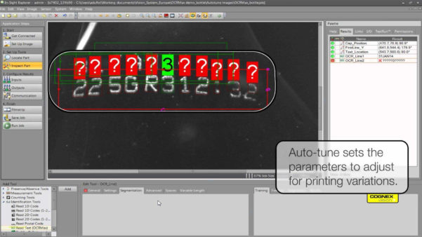 Cognex Spreadsheet Tutorial Pertaining To Cognex Insight Spreadsheet Tutorial With Ocrmax With Auto Tune