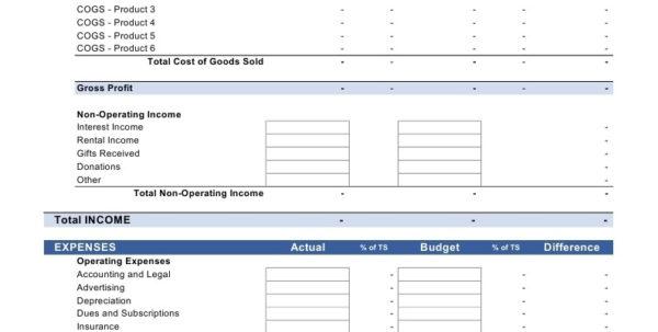 Cogs Spreadsheet In Dave Ramsey Budget Spreadsheet Excel  Nurul Amal