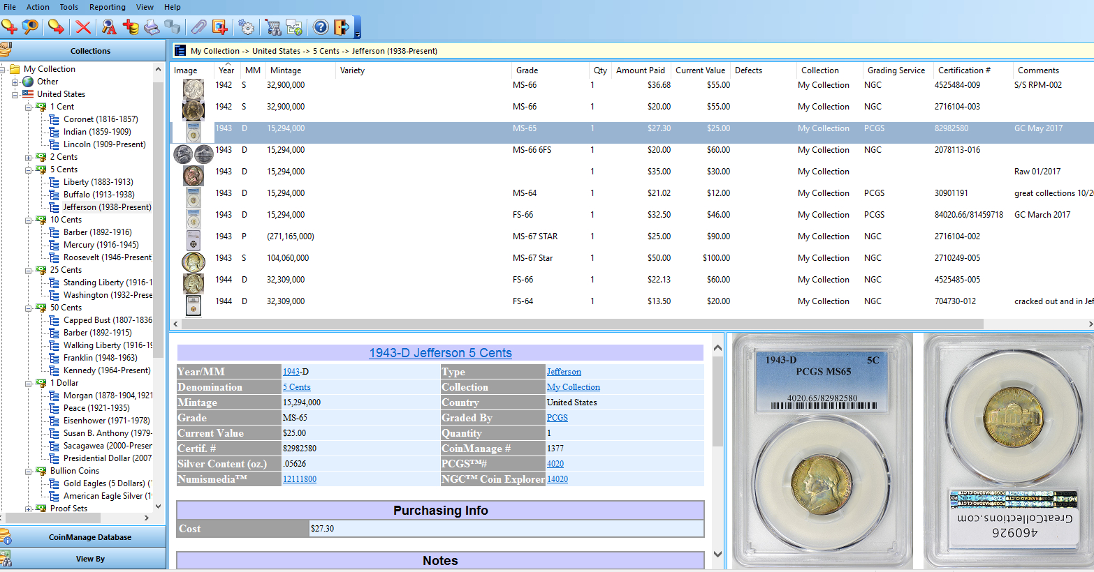 Coin Collecting Spreadsheet Download In Coin Collecting Software What Are You Using For Your Coin Collection