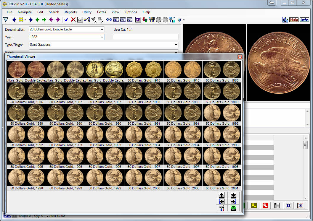 Coin Collecting Spreadsheet Download Intended For Coin Collecting Software: Ezcoin Usa 2019 With Values Images Great