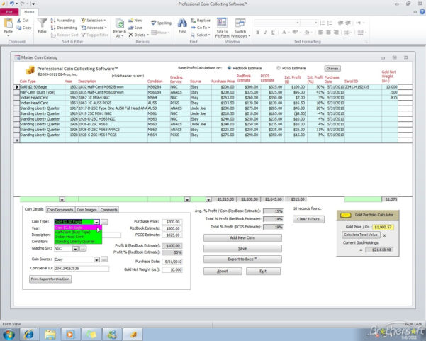 Coin Collecting Spreadsheet Download Within Coin Catalog Software Download : Buy Bitcoin Vietnam
