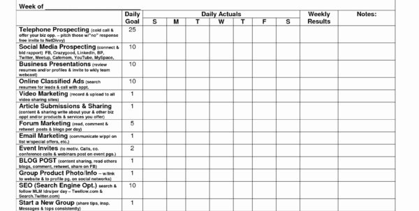 Cold Call Tracking Spreadsheet Throughout Sales Goal Tracking Spreadsheet Lovely Cold Call Tracking Sheet