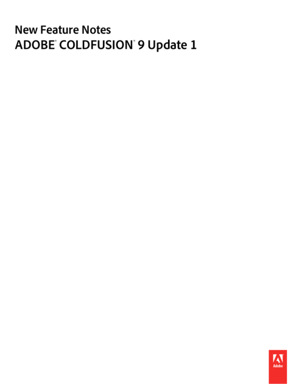 Coldfusion Spreadsheet Functions Intended For Coldfusion 9 Update 1 New Feature Notes  Manualzz