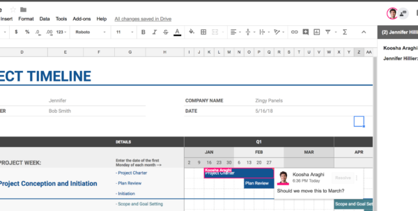 Collaborative Spreadsheet Open Source In 5 Reasons To Upgrade From Excel To Google Sheets  Bettersmb In
