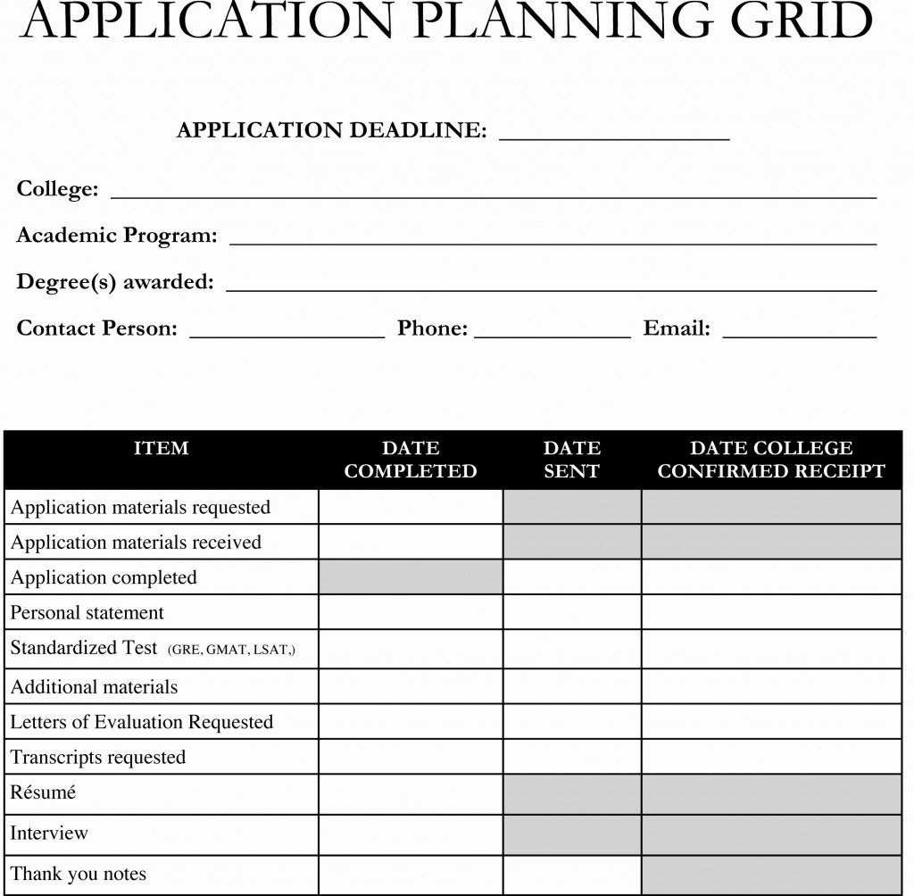 College Application Tracking Spreadsheet Within 50 Fresh College Application Tracking Spreadsheet Documents Ideas