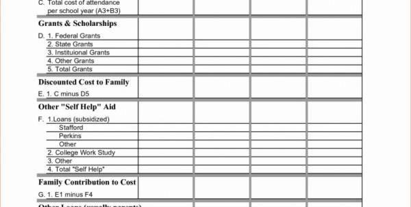 College Comparison Excel Spreadsheet Inside College Comparison Excel Spreadsheet  Austinroofing