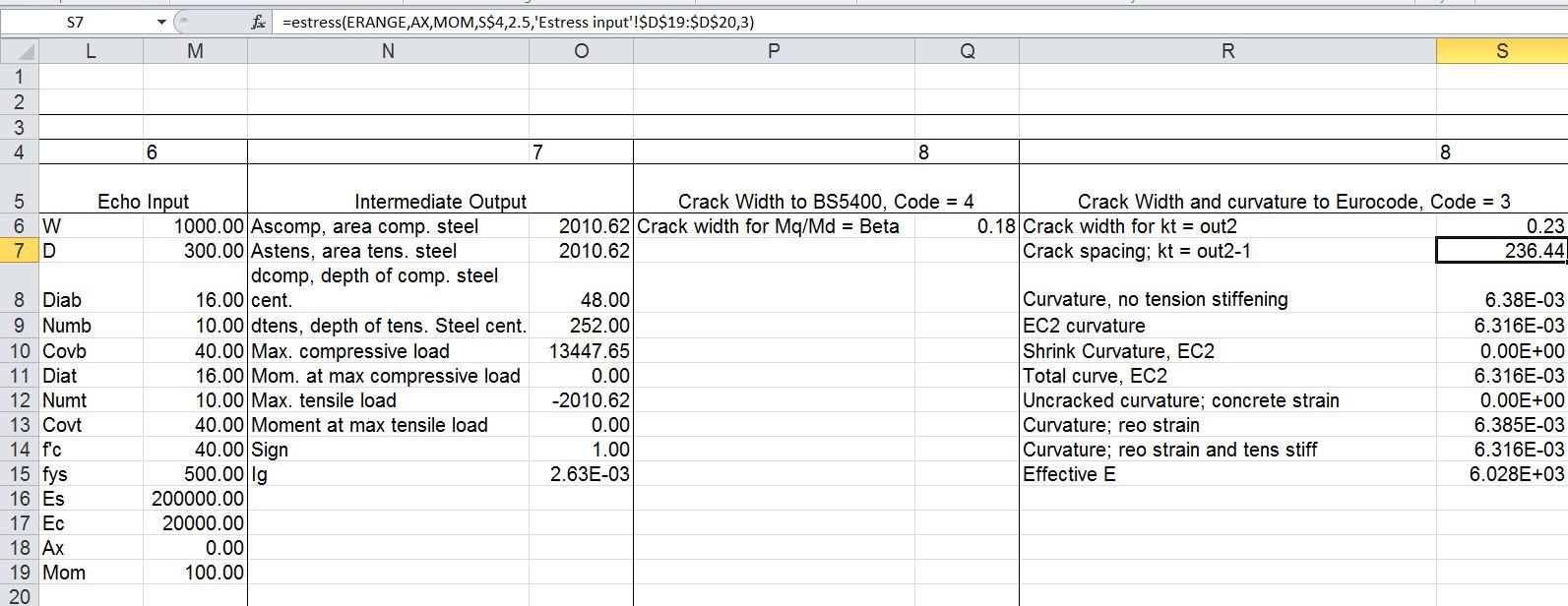 Column Design Eurocode 2 Spreadsheet With Column Design Spreadsheet Is 456 – Spreadsheet Collections
