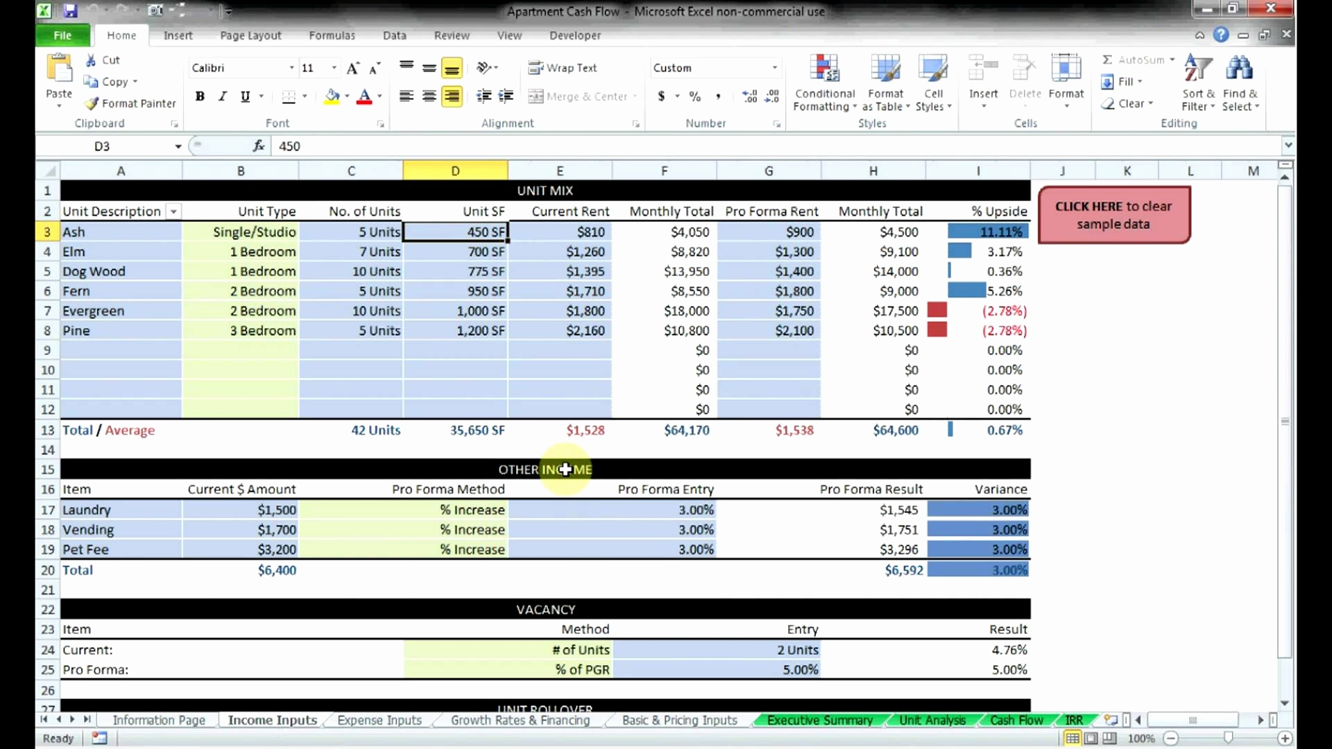 Commercial Lease Analysis Spreadsheet Inside Commercial Lease Analysis Spreadsheet 2018 How To Make An Excel